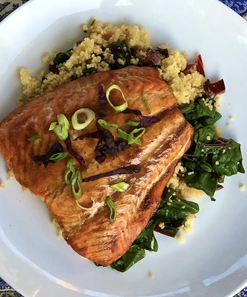 Recipes for Summer: 1/3 – Moroccan Sardine Crostinis & Citrus-Hoisin Salmon Glaze