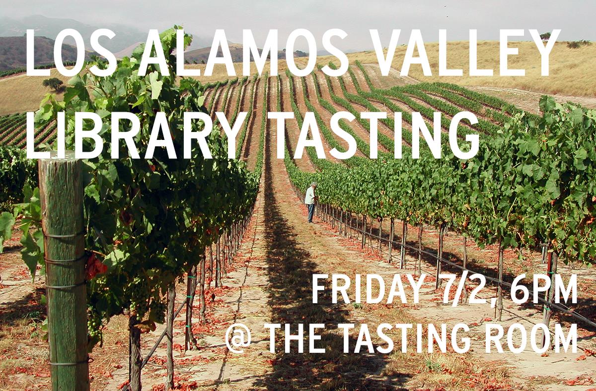 Los Alamos Valley Library Tasting